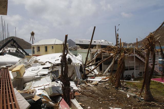 Hurricane Irma had the most devastating impact on Sophers Hole, according to 72-year-old resident, Egbert Smith. Credit: Kenton X. Chance/IPS