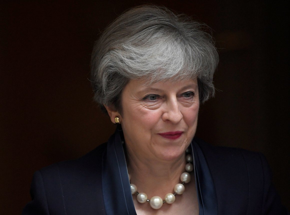 FILE PHOTO: Britain's Prime Minister Theresa May leaves 10 Downing Street in London, September 6, 2017. Credit: REUTERS/Toby Melville
