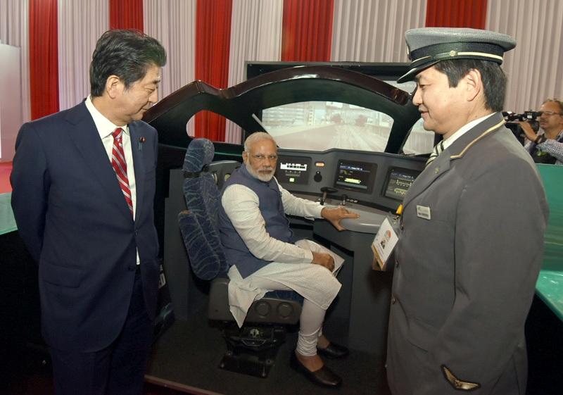 सरासर झूठा है मोदी का बयान कि 'एक प्रकार से मुफ़्त है' बुलेट ट्रेन का क़र्ज़…! Narendra Modi Shinzo Abe