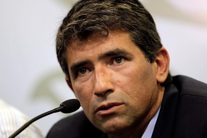 FILE PHOTO: Uruguay's Vice-President Raul Sendic is seen in Montevideo, Uruguay January 21, 2013. Credit:Reuters