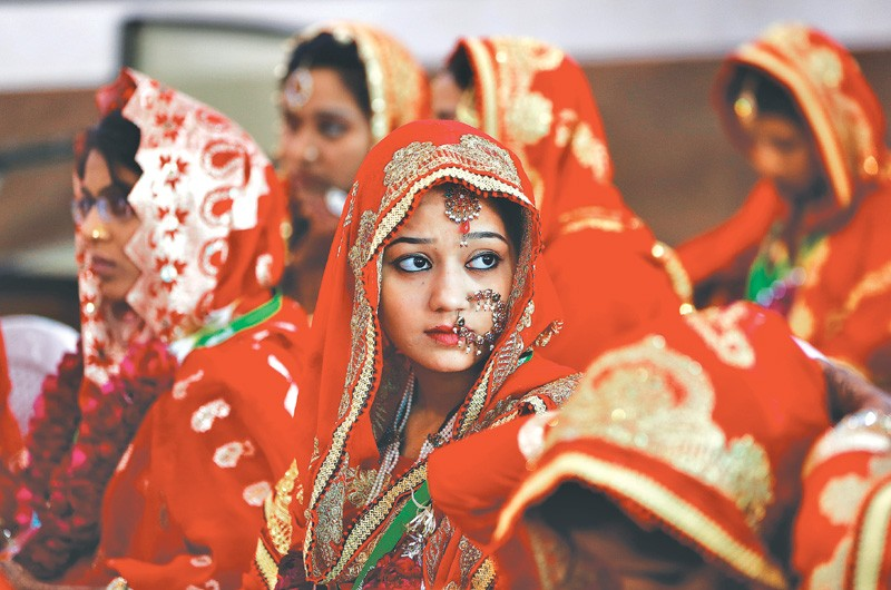 India has the highest number of child brides – with 47% of girls being married before they attain the age of 18. Representative image. Credit: Reuters