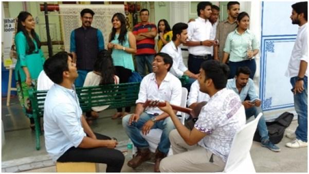 Nine squares Jaipur design show