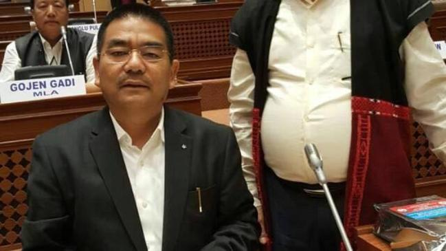 Arunachal Pradesh health and family welfare minister Jomde Kena. Credit: PTI