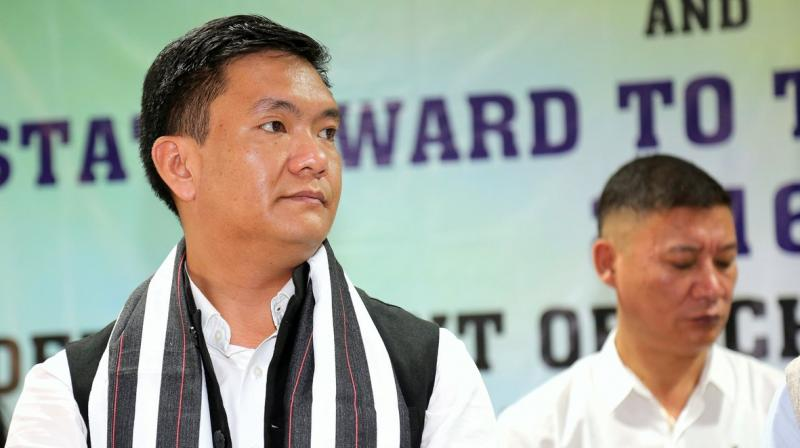 At 31, the BJP government in Arunachal Pradesh led by chief minister Pema Khandu appointed the highest number of parliamentary secretaries in the Northeast. Credit: PTI