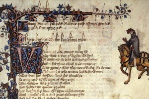 The Knight from the Ellesmere Manuscript of the Canterbury Tales. Credit: Wikipedia