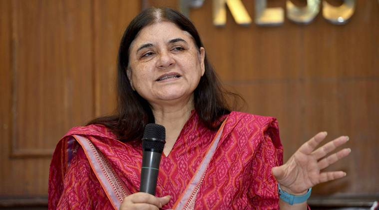 Women and child development minister Maneka Gandhi. Credit: PTI