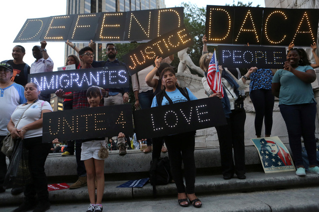 Trump expected to announce end to Obama-era DACA, official says