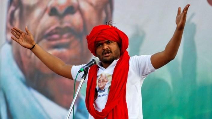 Hardik Patel. Credit: Reuters