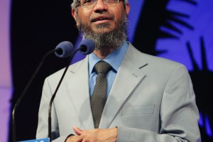 Zakir Naik. Credit: Wikimedia Commons
