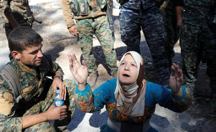 The liberation of Raqqa marks the symbolic demise of the ISIS's three-year rule. Credit: Reuters