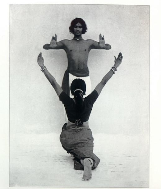 Chandralekha and Kamadev in Navagraha, 1972. Credit: Dashrath patel Archive, Ahmedabad