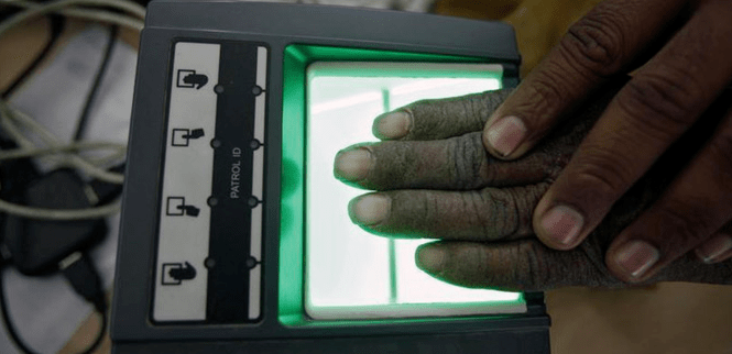 Aadhaar-based biometric authentication is necessary in a large majority of Jharkhand's ration shops. Credit: Reuters