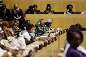 Launch of the African Women Leaders Network in New York. Credit: UN Photos