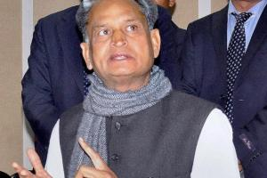 Senior Congress leader Ashok Gehlot. Credit: PTI