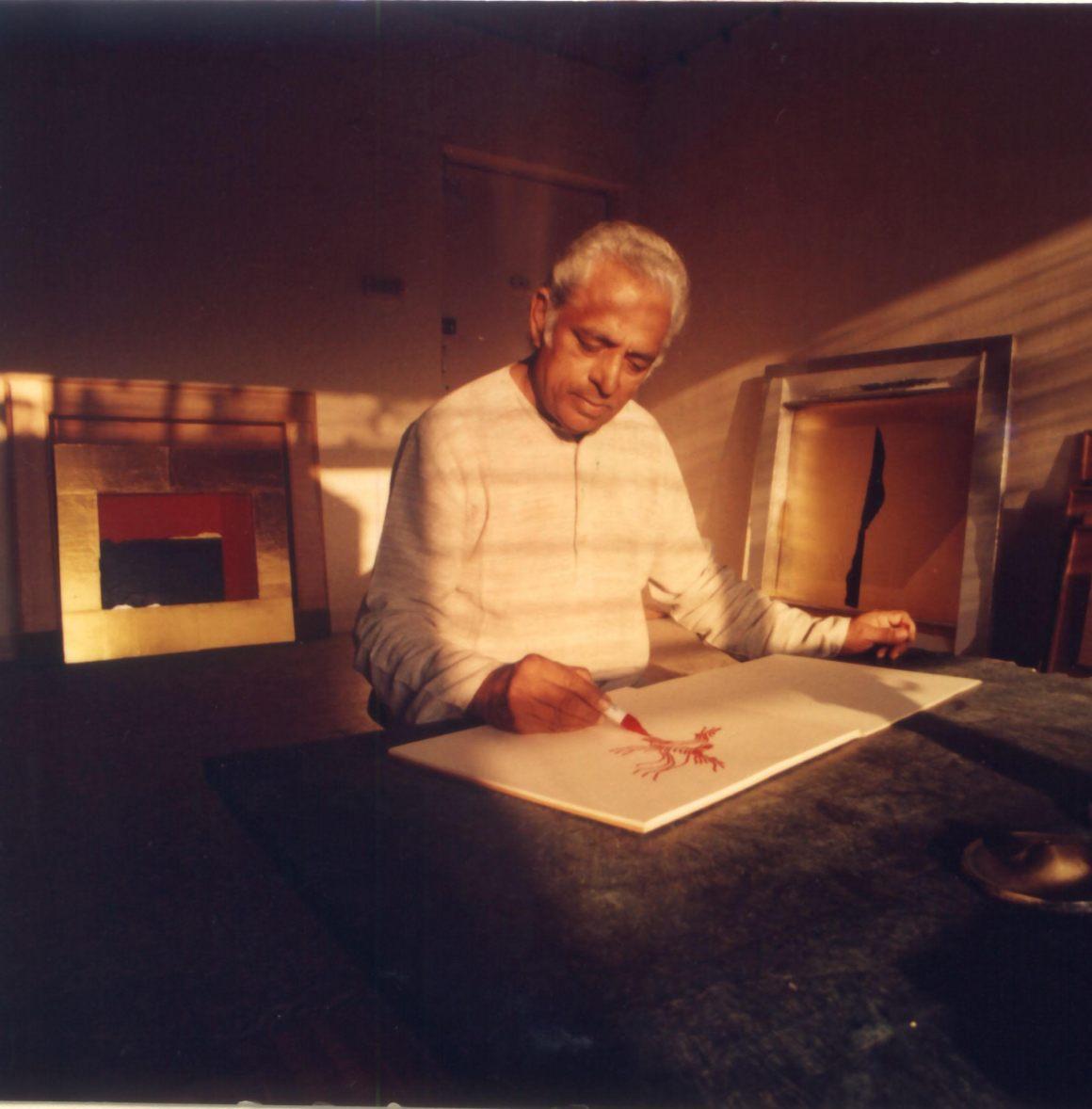 Dashrath Patel (October 6, 1927- December 1, 2010. Credit: Sadanand Menon