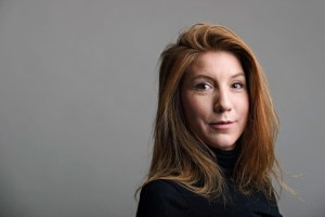 "A photo of Swedish journalist Kim Wall who was aboard a submarine ""UC3 Nautilus"" before it sank. Credit: Reuters"