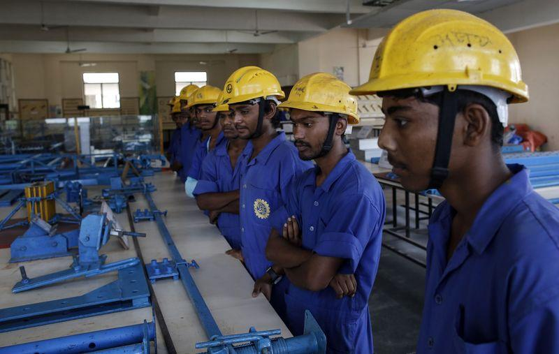 A poorly educated and very unhealthy labour force is a fundamental structural reason why India's economic growth cannot but be similar to that of 40% of her children: stunted. Credit: Reuters