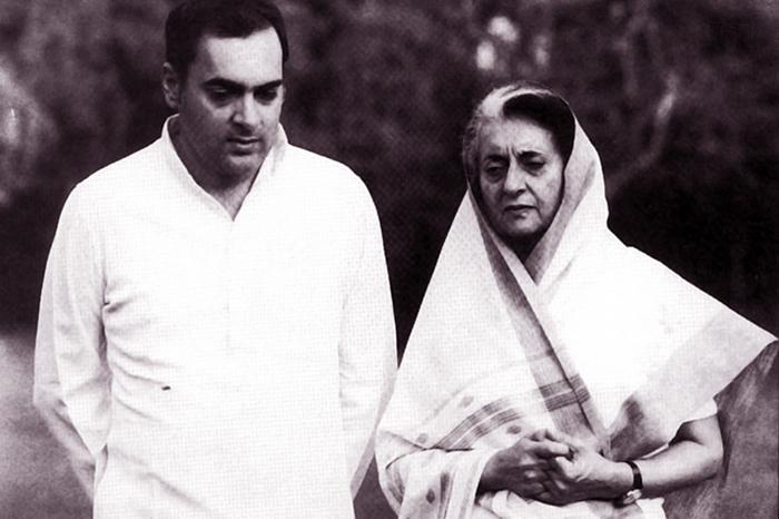 Rajiv Gandhi Indira Gandhi