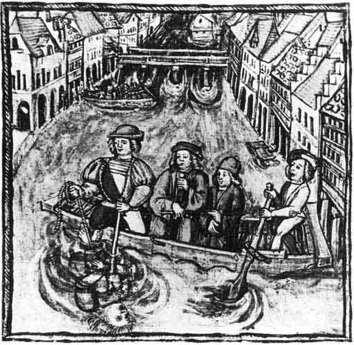 Water ordeal. Credit: Wikipedia