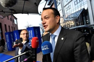 Ireland's Prime minister Leo Varadkar arrives for the EU Social Summit for Fair Jobs and Growth in Gothenburg, Sweden November 17, 2017. TT News Agency/Jonas Ekstromer/via Reuters
