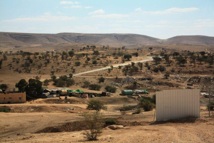 Umm al-Hiran, a Bedouin village on the verge of demolition by Israeli authorities. (Credit: Aniqa Raihan)