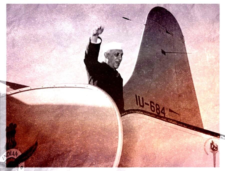 Jawaharlal Nehru. Credit: Nehru Memorial Library