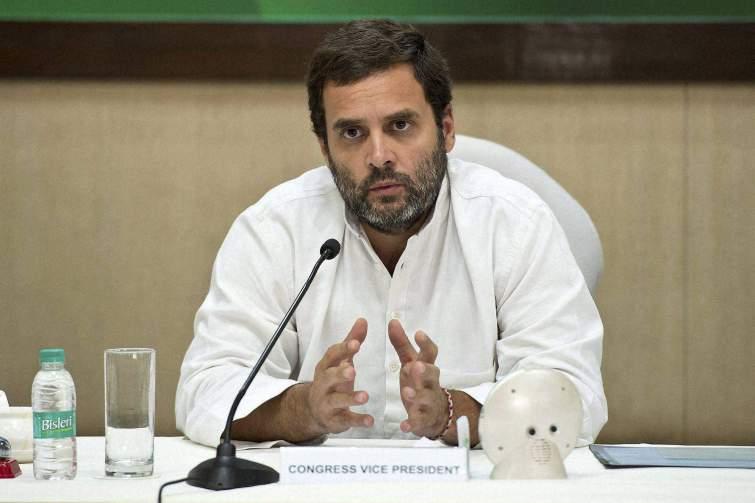 Congress vice president Rahul Gandhi. Credit: PTI