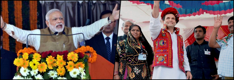 In Final Leg of Campaign in Gujarat, It's Modi Versus Rahul