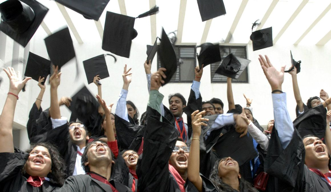 In 2016-17, only 47% of MBA received placements, an over 4% dip from the previous year. Credit: Reuters/Krishnendu Halder