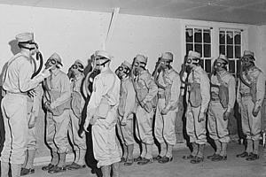 The US military experimented on about 60,000 enlisted soldiers to study the effects of mustard gas, exposure that affected the health of veterans for the rest of their lives. Courtesy: United States Library of Congress