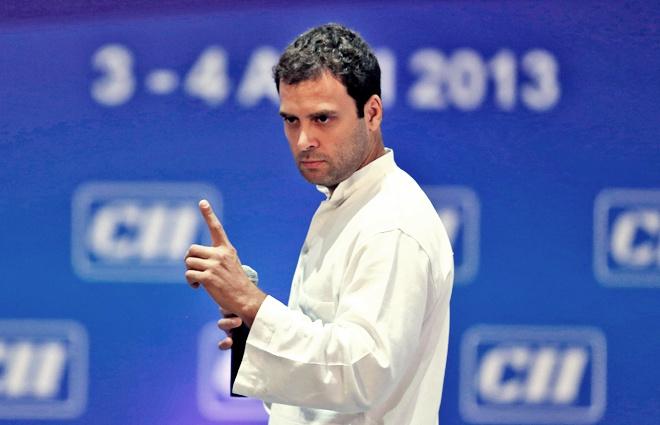 Congress vice president Rahul Gandhi. Credit: Reuters