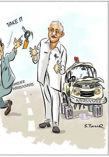 S. Tariq's cartoons.