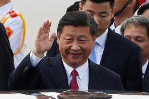 China's President Xi Jinping arrives for the APEC Summit in Danang, Vietnam November 10, 2017. Credit: Reuters/Kham/Files