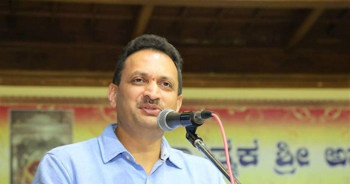 Union minister Anantkumar Hegde. Credit: Facebook