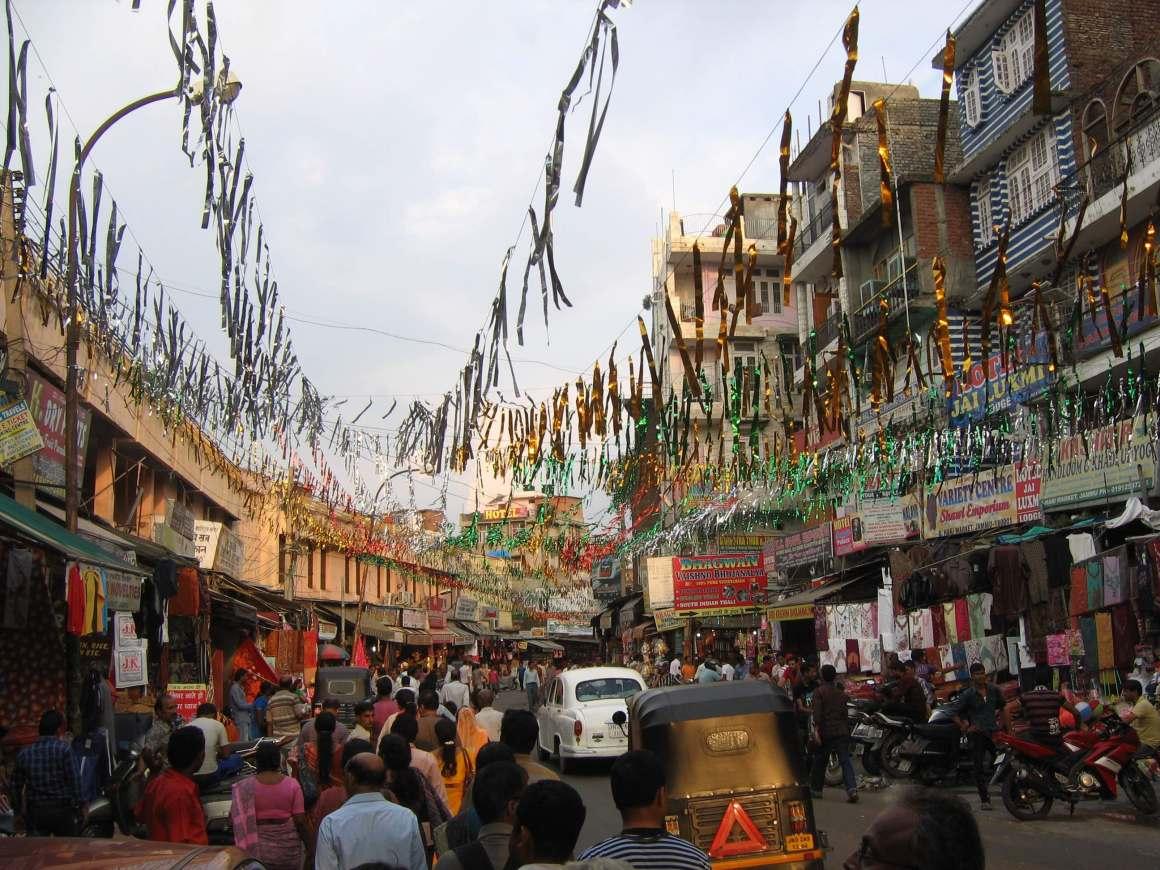 Hari Market in Jammu. Credit: Wikimedia Commons