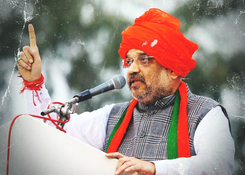 BJP president Amit Shah. Credit: Facebook/BJP