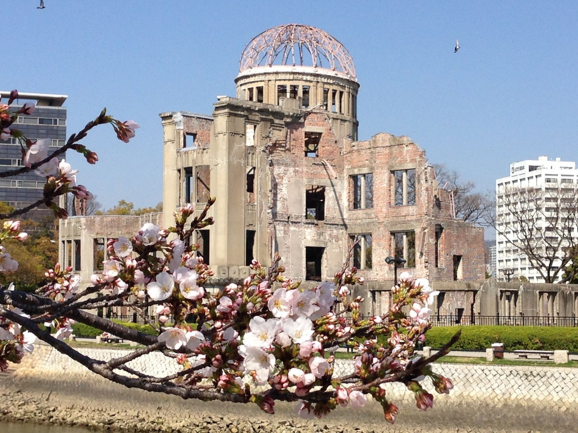 Genbaku Dome,the peace memorial in Hiroshima for the people killed in the atomic bombing of the city on August 6, 1945. Credit: neil137/pixabay