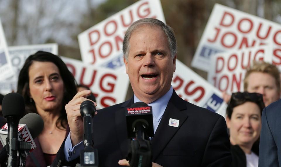 Democrat Doug Jones. Credit: Reuters