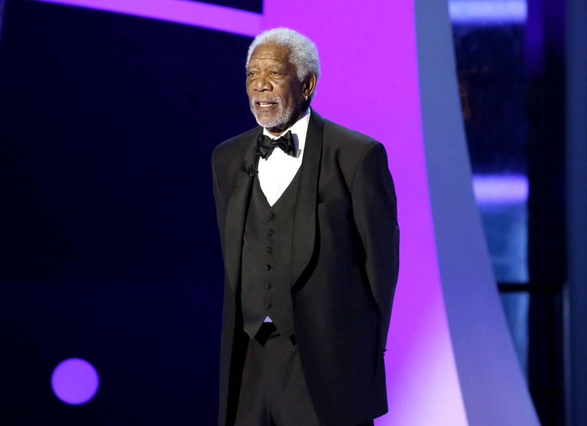 The awards ceremony was hosted by Morgan Freeman. Source: Breakthrough/Facebook