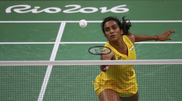 P.V. Sindhu. Credit: Reuters