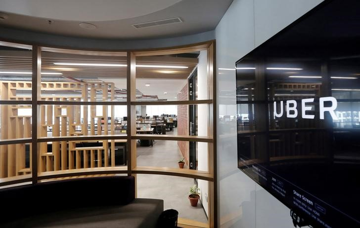 The interior of the office of ride-hailing service Uber is seen in this picture in Gurugram, previously known as Gurgaon, on the outskirts of New Delhi, India, April 19, 2016. Credit: Reuters/Anindito Mukherjee