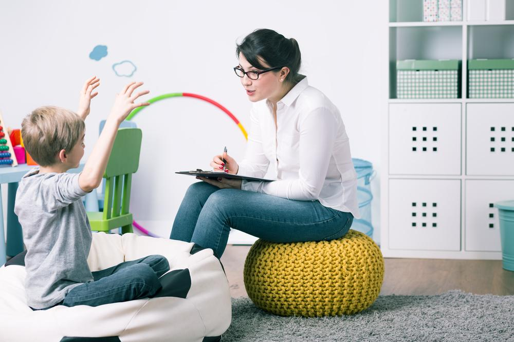 Mother and Son - Homeschooling Children with Special Needs