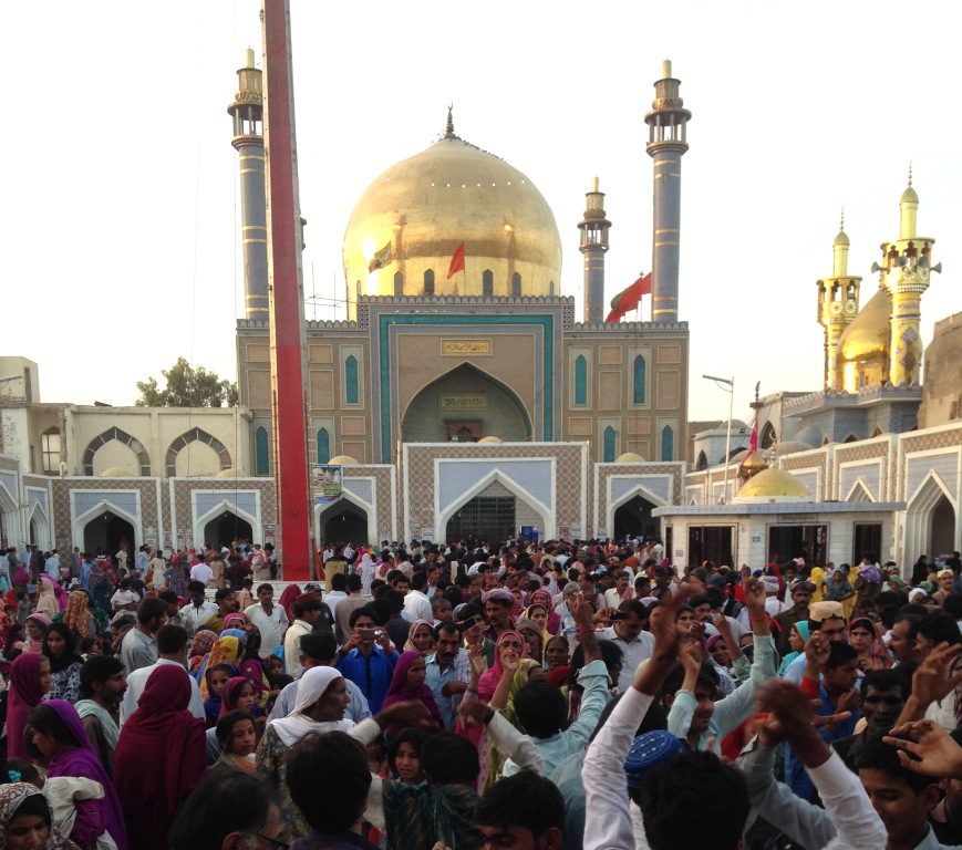 shahbaz qalandar shrine