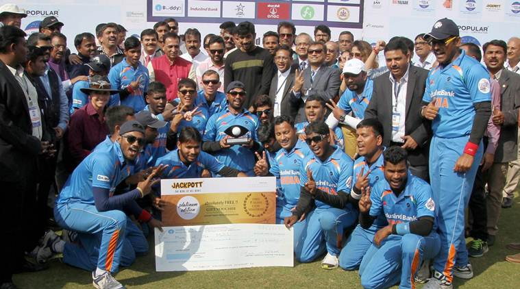 Blind Indian cricket team