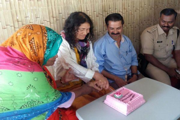 Activist-Irom-Sharmila-in-Kerala PTI