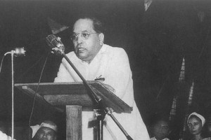 On 20 May 1951, Dr. Ambedkar addressed a conference on the occasion of Buddha Jayanti organised at Ambedkar Bhawan, Delhi. The Guest of Honour was the then Ambassador of France in India. Shankaranand Shastri is seen on the right in the photograph.