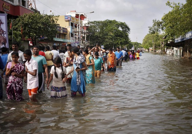 Chennai Flood 2015 Reuters