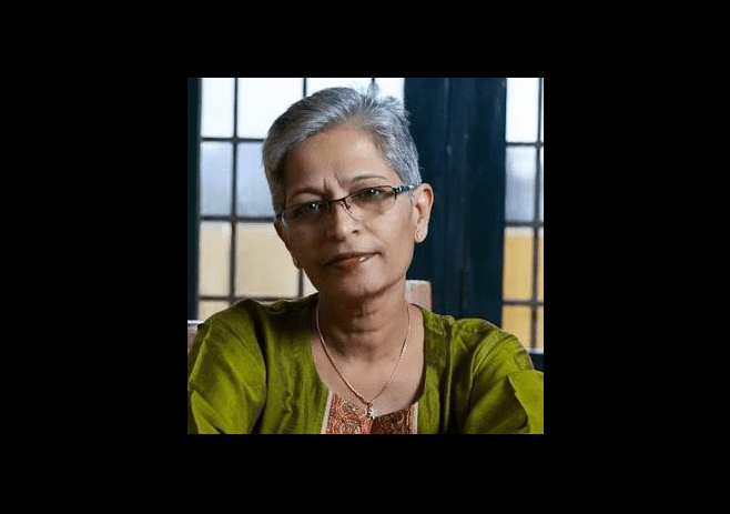 Gauri Lankesh Facebook