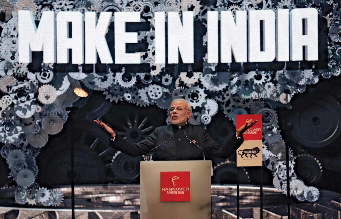 Make in india Modi Reuters