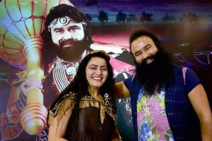 Honeypreet Insan and Gurmeet Ram Rahim